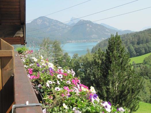 Ausblick Sonniger Balkon FW Nebenhaus