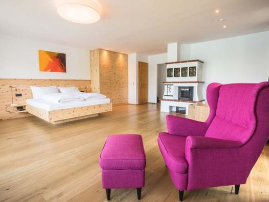 Appartement am See Bett (© Edenberger)