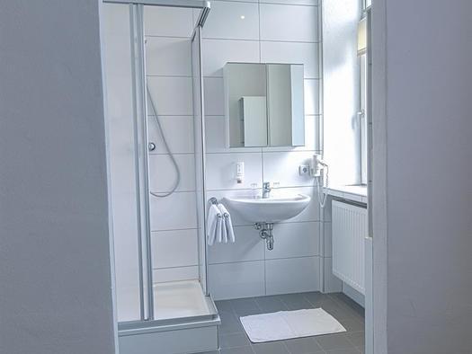 Badezimmer, Hotel Bayrischer Hof
