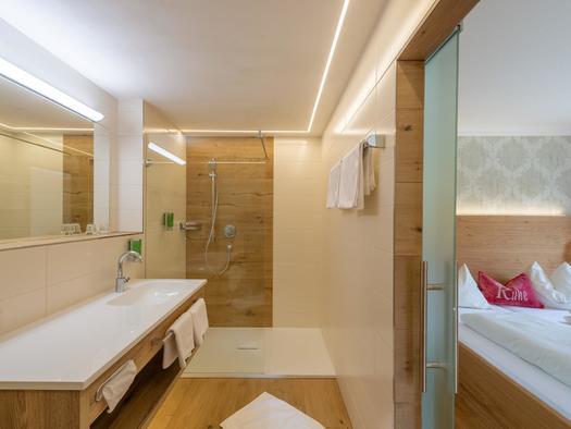 Beispiel Badezimmer (© Hochlackenhof)