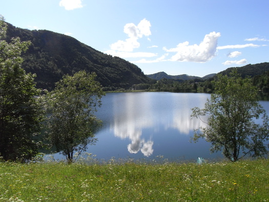 Idyllische Landschaft rund um den Hintersee (© Tourismusverband Faistenau)