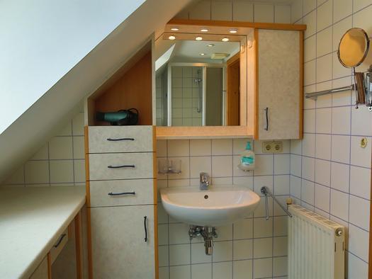 Badezimmer im Apartment Siegfried (© Gästehof Annerl)