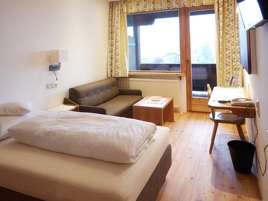 Beispielbild Hotel Föttinger in Steinbach am Attersee Einzelzimmer. (© Hotel Föttinger)