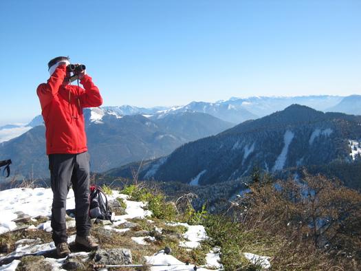 Am Gipfel des Faistenauer Schafbergs (© Tourismusverband Faistenau)