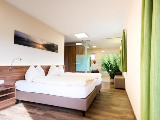 Schlafzimmer, Doppelbett. (© Ellmauer)