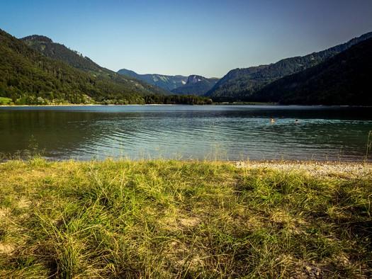 Badesee Hintersee (© Tourismusverband Faistenau - M. Göttlich 50 Centimos)