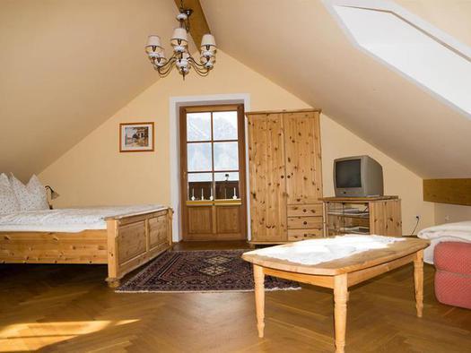 Doppelzimmer Seeblick mit Balkon (© Schweizerhof am See)