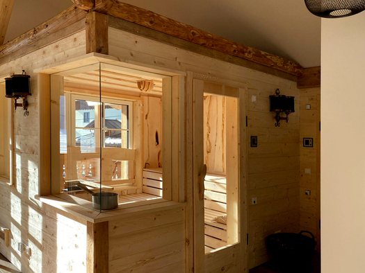 große Sauna. (© D7)
