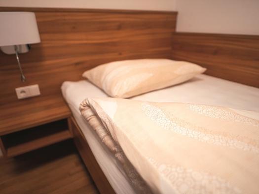 Einzelbett (© Hotel Mauernböck)