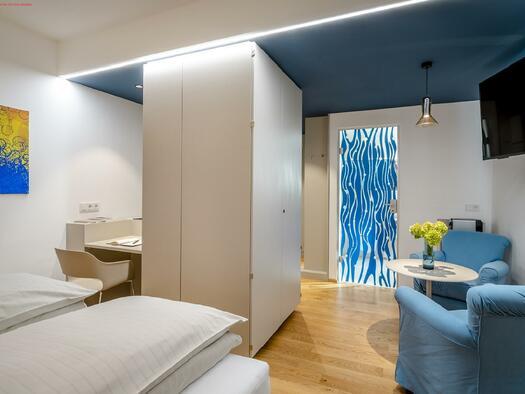 Design Zimmer mit Kitchenette