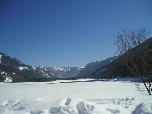 Winterpanorama am Hintersee