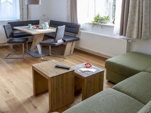 Wohnbereich Studio Sunseitn (© Gästehaus