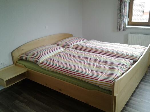 Doppelbett (© Familie Kern)