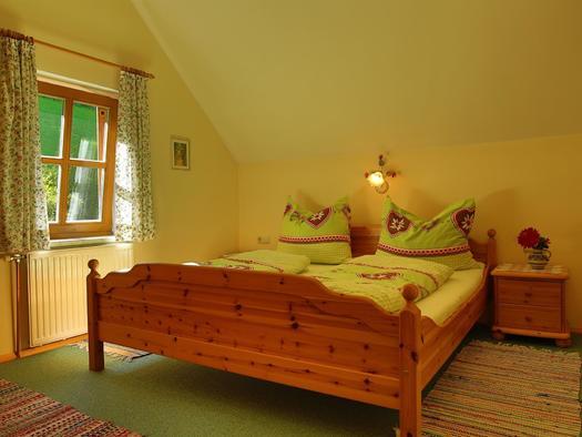 Schlafzimmer im Apartment Daniel (© Gästehof Annerl)