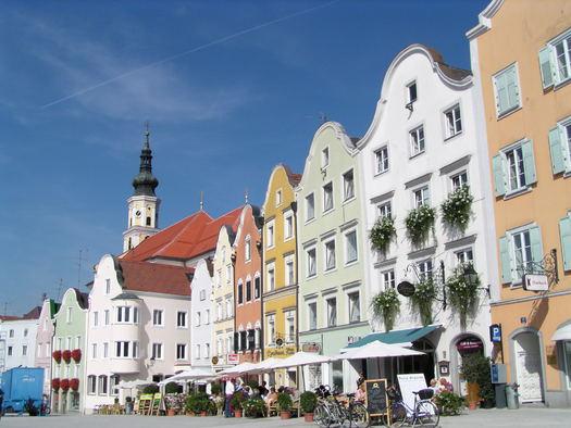 Silberzeile  (© Tourismusverband Schärding)
