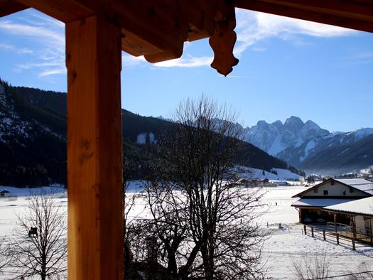 Ausblick vom Balkon. (© D7)