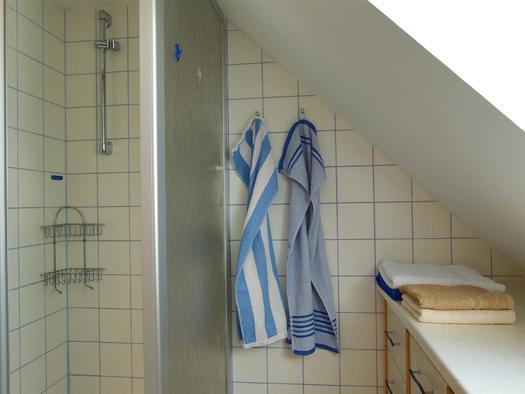 Dusche im Apartment Siegfried (© Gästehof Annerl)