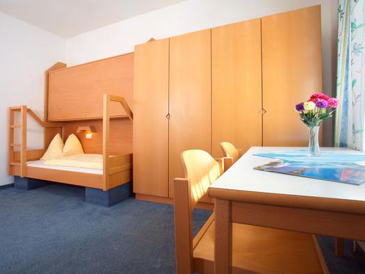 Einzelzimmer Jugendgästehaus Bad Ischl. (© OÖJHV)