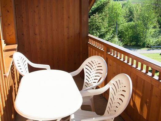Ferienwohnung C - Balkon