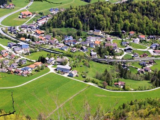 Ortsansicht Ebenau. (© Tourismusverband Ebenau)