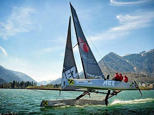GC 32 am Traunsee Training