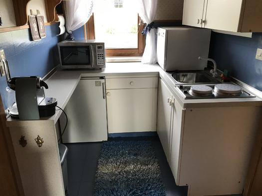 Küche Apartment Mühltalblick (© Haus Stadlau)