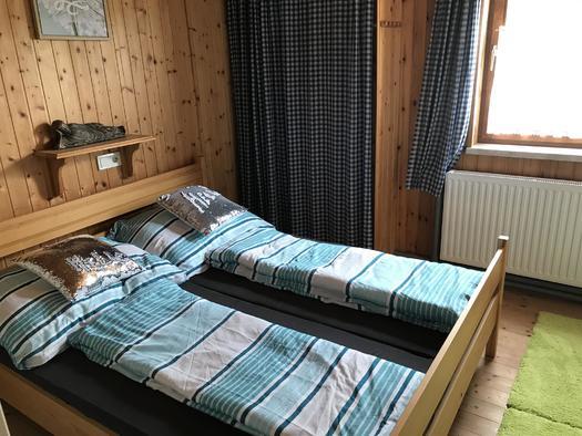 Schlafzimmer Apartment Hochfichtblick (© Haus Stadlau)