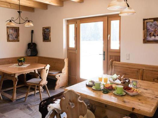 Frühstücksraum (© Elisa Sommer l - Big-Sky-Ranch)