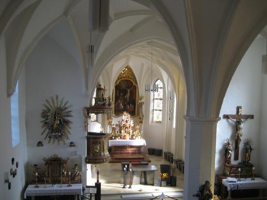 Pfarrkirche Sankt Willibald. (© Gemeinde Sankt Willibald)