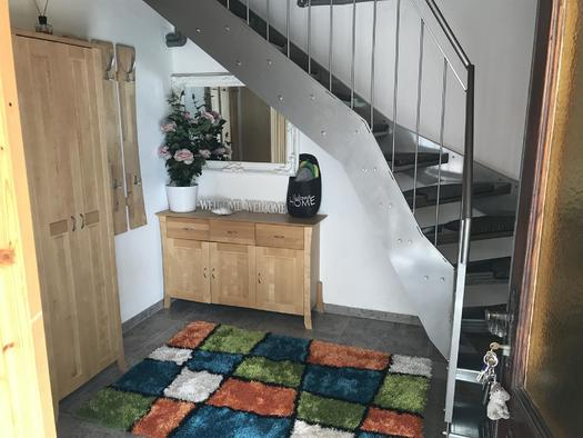 Vorraum mit Garderobe Apartment Hochfichtblick (© Haus Stadlau)