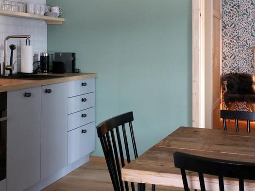 Küche und Essbereich. (© D7)