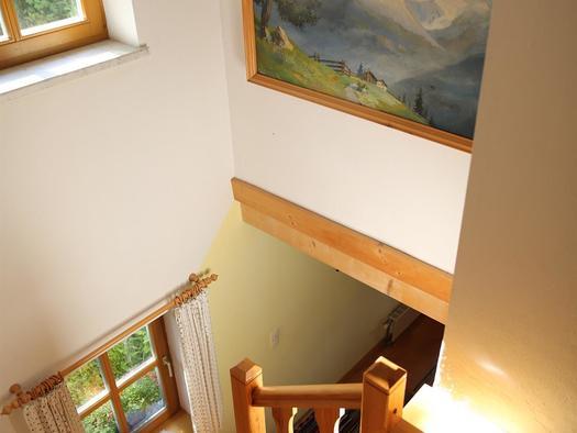 Stiegenhaus im Apartment Daniel (© Gästehof Annerl)