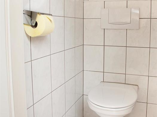 Ferienwohung D - 2. Toilette im Schlafzimmer