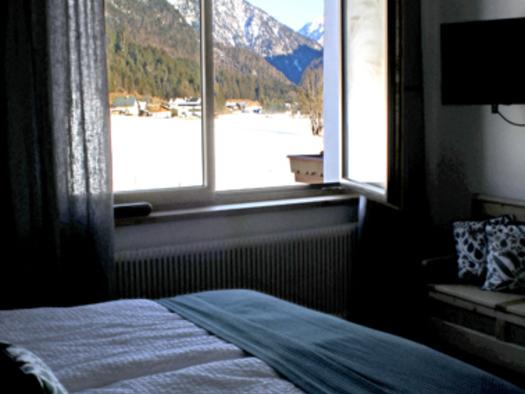 Aussicht vom Schlafzimmer. (© D7)