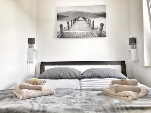 Schlafzimmer (© Wolfis Traunseeblick)