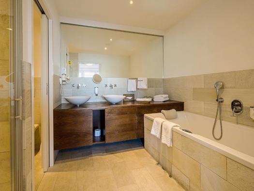 Badezimmer Traunsee Suite Bad