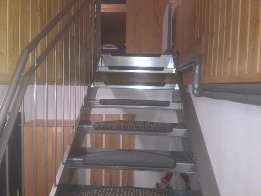 Stiegenaufgang (© Haus Stadlau)