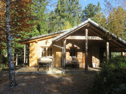 Birken-Hütte Außenansicht