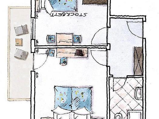 Zimmerplan `Schlüsselblume`
