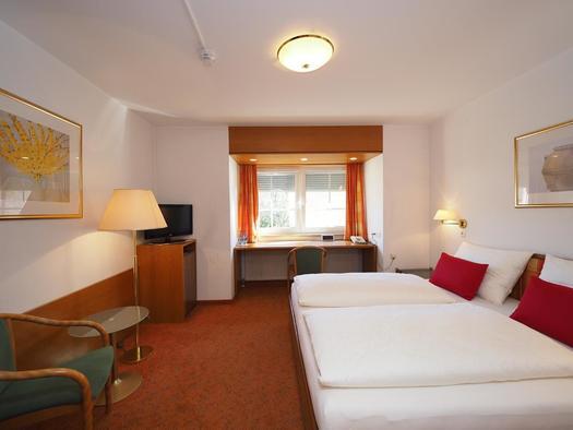Doppelzimmer (© Hotel Schlair)