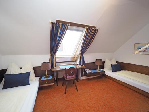 Zweibettzimmer (© Hotel Schlair)