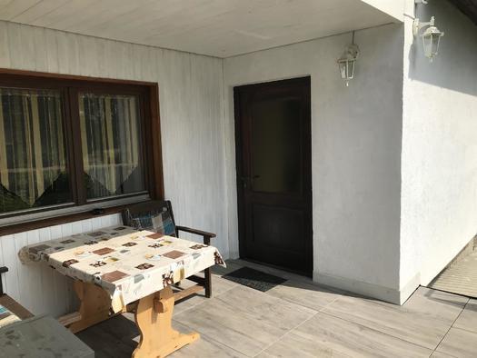 Eingangsbereich Apartment Hochfichtblick (© Haus Stadlau)