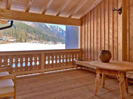 Terrasse beim Spabereich. (© D7)
