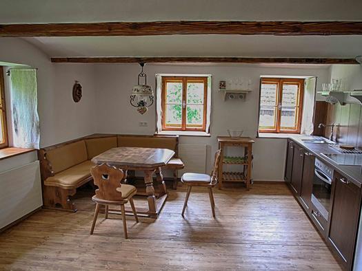 Küche mit Essecke (© privat)