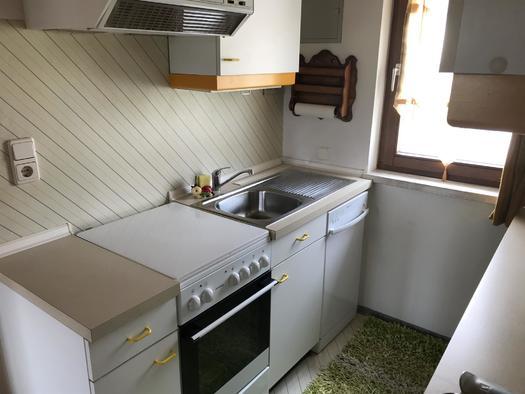 Küche Apartment Hochfichtblick (© Haus Stadlau)