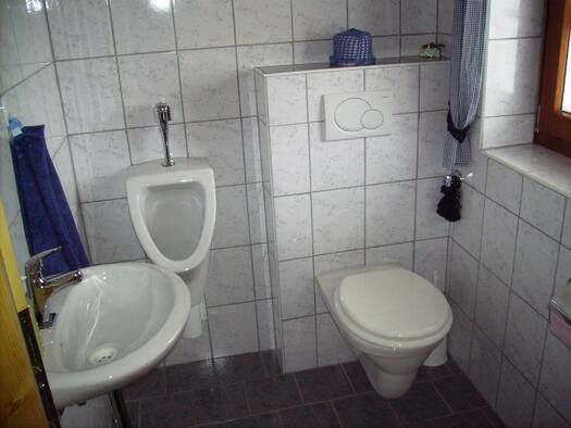 Bad und WC (© Familie Kern)