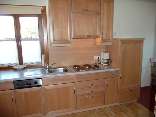 Küche - Appartement 1 (© Pension Alpenblick - Faistenau)