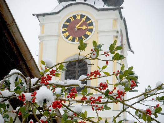 Dorfkirche. (© Erich Unteregelsbacher)