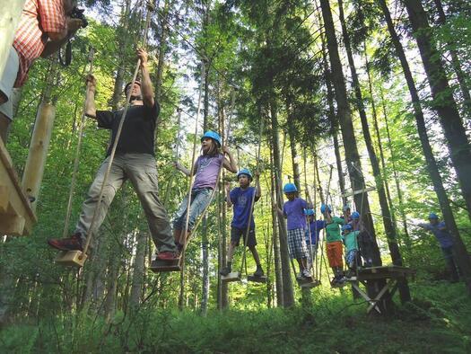 Kletterspass für Groß & Klein