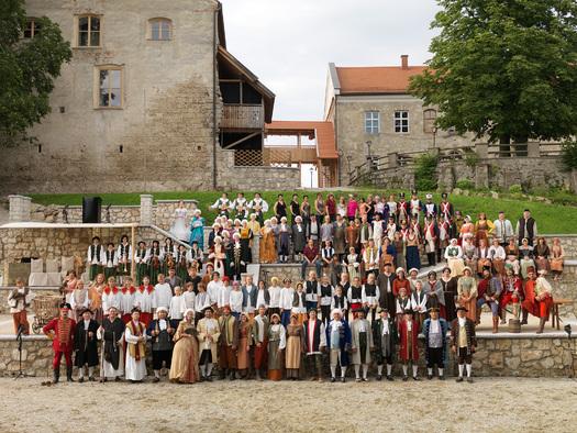 Schloss Frauenstein - Freilichtbühne  (© www.mining.ooe.gv.at)